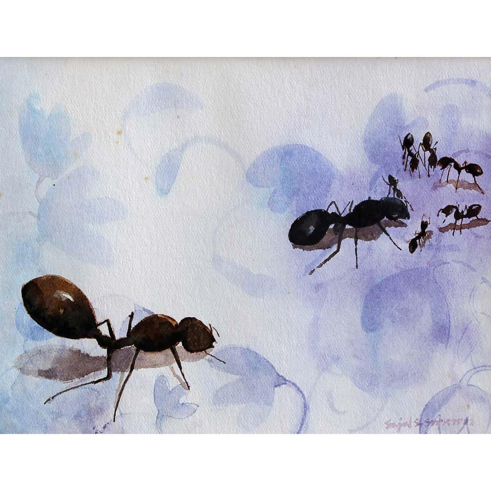 Ants by Sajal Sarkar