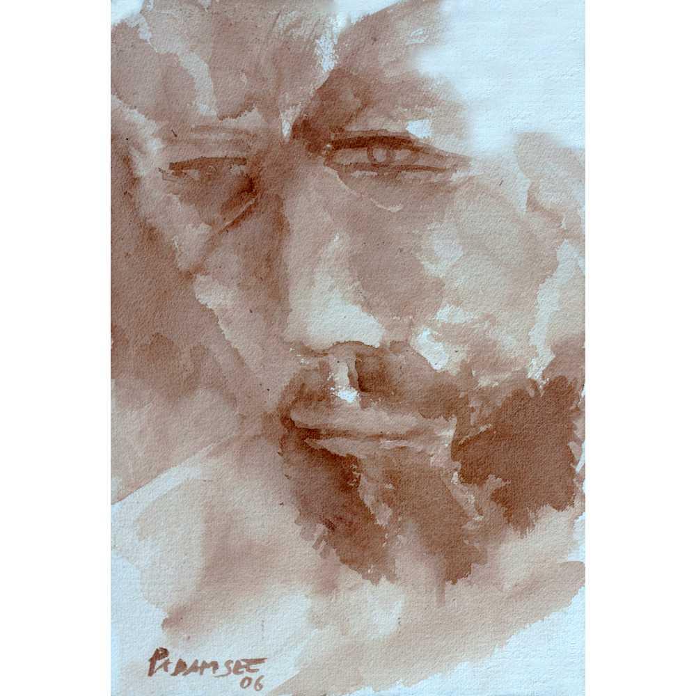 Face by Akbar Padamsee