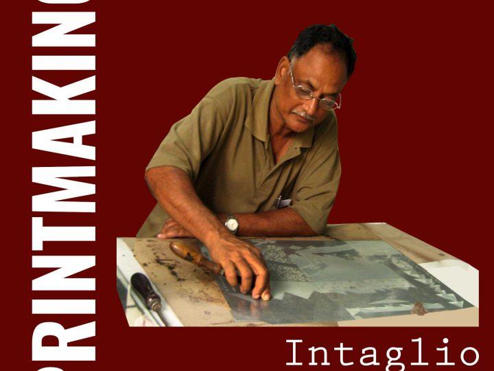 Intaglio by Jyoti Bhatt